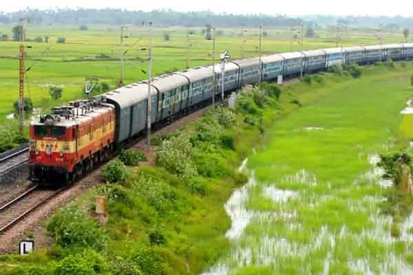 The Indian Railway's functions on an operating ratio of 94%