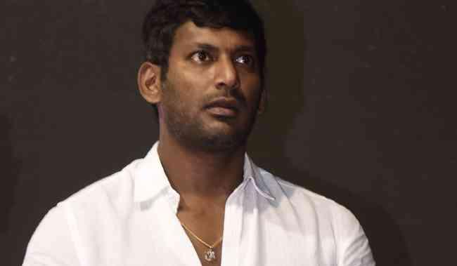 hero Vishal  will enter politics