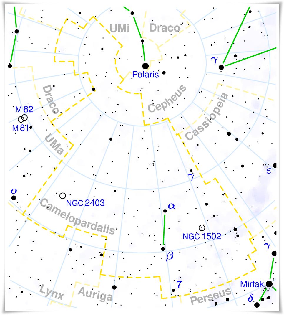 Constel·lació de Camelopardalis