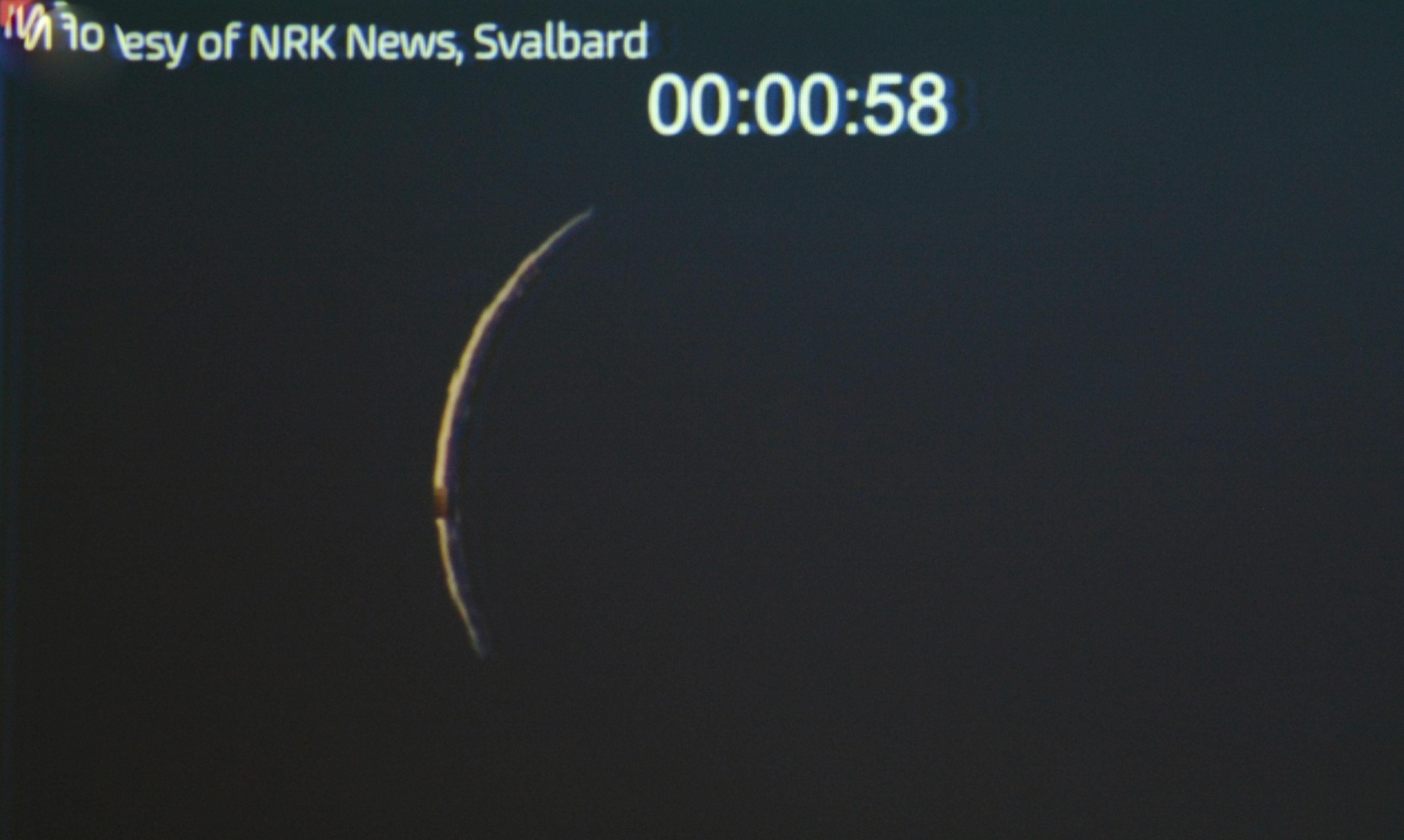 Eclipsi parcial a Llagostera