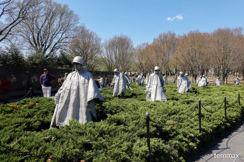 เที่ยว Washington DC, Korean War Veterans Memorial