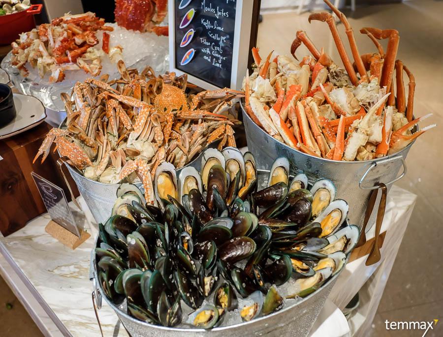 บุฟเฟ่ต์ อาหารทะเล ออร์แกนิค Mövenpick