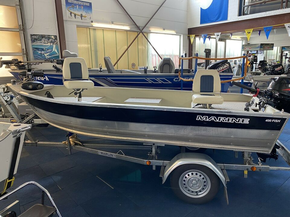 Aluminium Angelboot Marine 400 Fish