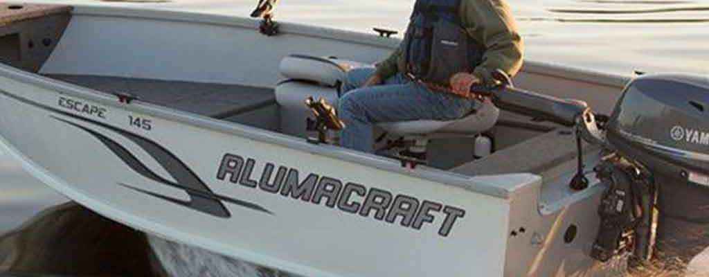 Alumacraft Escape 145 Tiller