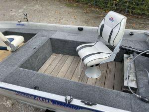 Aluminium Angelboot Linder 400 Sportsman