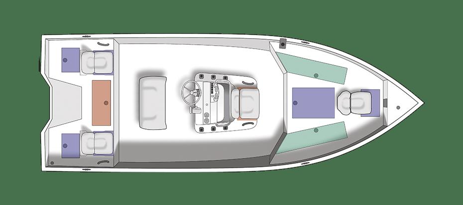 Crestliner 2200 Bay Übersicht