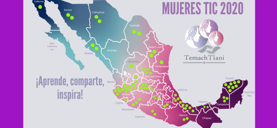 Mapa Mujeres TIC 2020