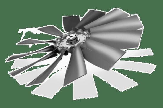 MW Aerofoil Fan