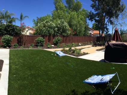 Artificial turf in Murrieta McCabe's Landscape Construction