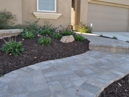 Paver stairs in Temecula McCabe's Landscape Construction