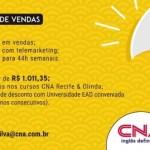 CONSULTOR DE VENDAS – RECIFE/PE