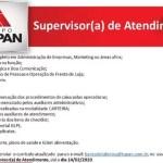 SUPERVISOR (A) DE ATENDIMENTO – RECIFE/PE