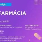 FARMÁCIA (ESTÁGIO) – RECIFE/PE