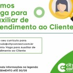 AUXILIAR DE ATENDIMENTO AO CLIENTE (ENVIAR CV ATE 30/05/2020) – RIO DE JANEIRO/RJ