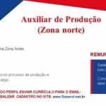AUXILIAR DE PRODUÇÃO – RECIFE/PE
