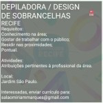 DEPILADORA E DESIGN DE SOBRANCELHAS – RECIFE/PE