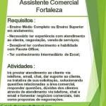 ASSISTENTE COMERCIAL – FORTALEZA/CE