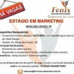 ESTÁGIO EM MARKETING – MOGI DAS CRUZES/SP