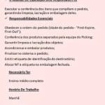 AUXILIAR DE EXPEDIÇÃO – SÃO PAULO/SP