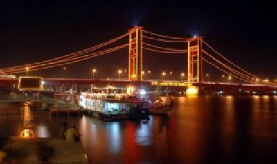 Ampera Bridge Palembang Indonesia