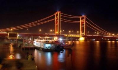 Ampera Bridge Palembang Indonesia