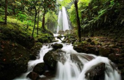 Beautiful Jumog waterfall Indonesia