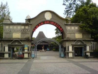 Beautifull Sriwedari Garden Indonesia