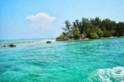 Beautiful Pramuka Island Indonesia