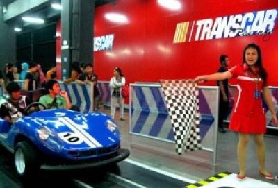 Trans Car Racing Trans Studio Bandung