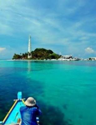 Mercusuar Pulau Pelepas indonesia