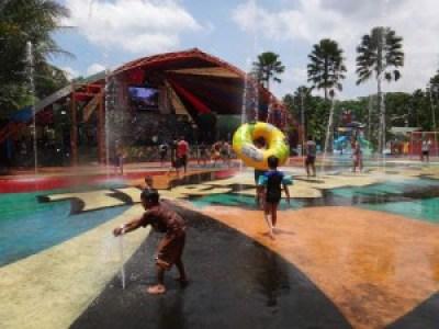 area fountain futsal the jungle Bogor
