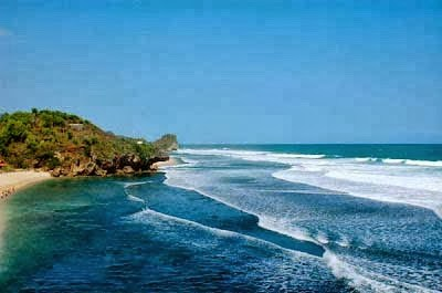 Beautiful Sundak Beach Indonesia