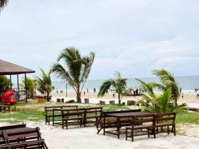 Beautiful Kemala Beach Indonesia