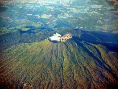 Ciremai Mountain The highest of west java Indonesia