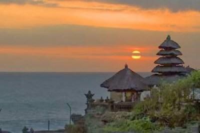 Sunset di Pura Tanah Lot Bali