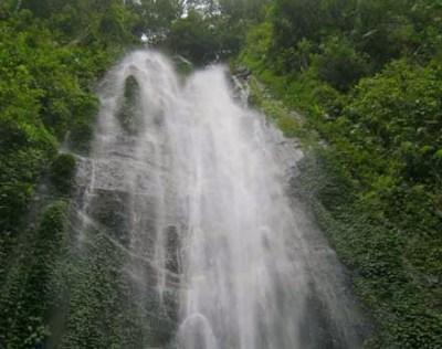 Air terjun Cibeureum Gunung Gede