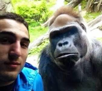 Cara foto selfie