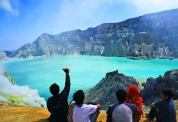 Perjalanan Wisata Ke Kawah Ijen Banyuwangi Jatim Tempat