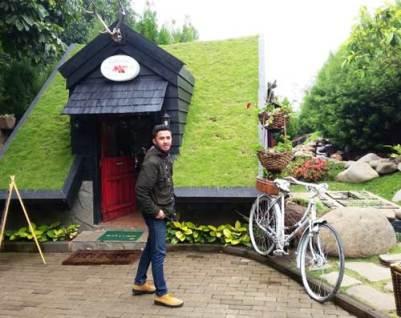 Alamat lokasi Farmhouse susu Lembang