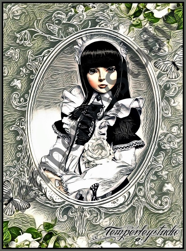 Lolita doll cameo girl