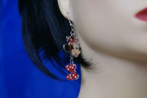 Iconic fan groupie celebrity style earrings