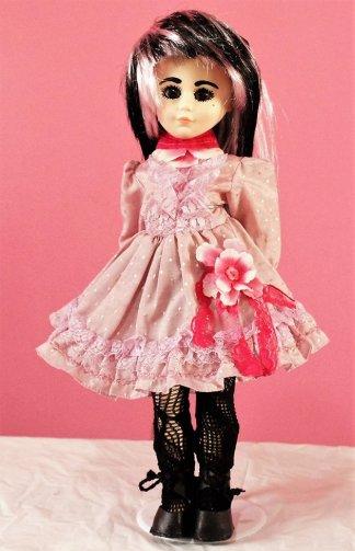 Pink Lolita flower dress