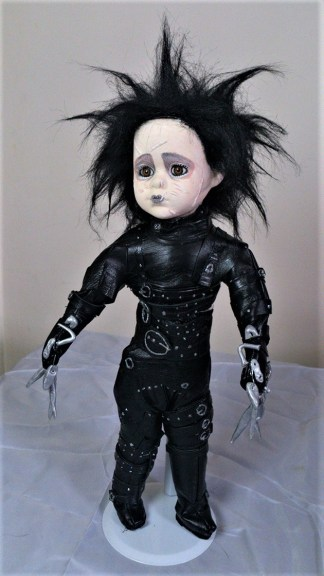 Edward Scissorhands ornamental doll