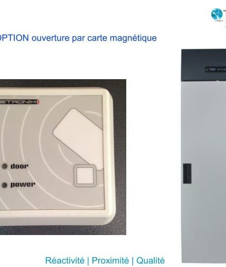 Frigo_Acces Carte Magnetique