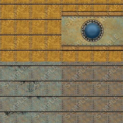 Steampunk Textures Set 10, Sample 2