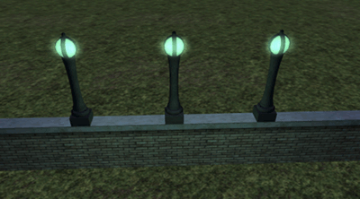 Full-bright and glow lighting example