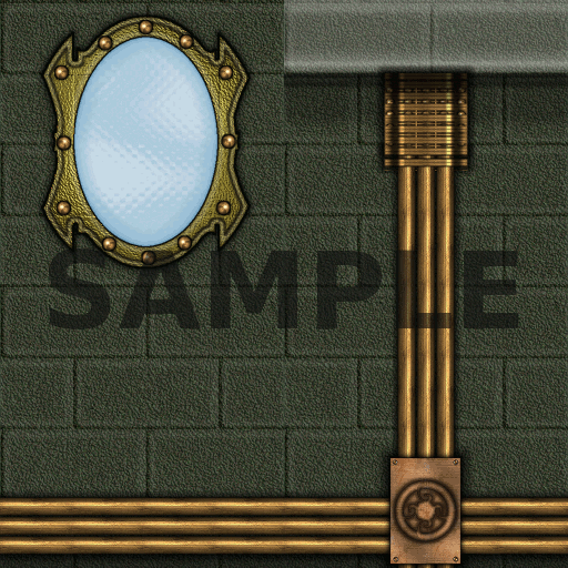 Steampunk Textures Sample 1