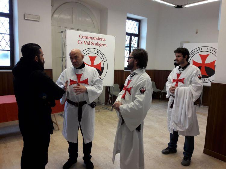 San Fermo Verona, intervista Magiste Templari Cattolici d'italia tomba Maestro Generale Arnau de Torroja