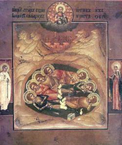 svetih sedem spečih iz Efeza - mučenci