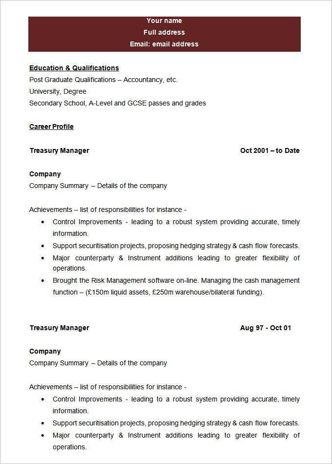 Free Printable Resumes Samples. Resume Examples Resume Templates